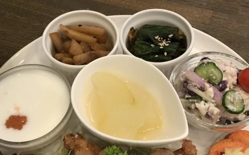 4種類のお惣菜