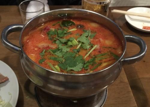 世界三大スープの一角とも言える「トムヤンクン」