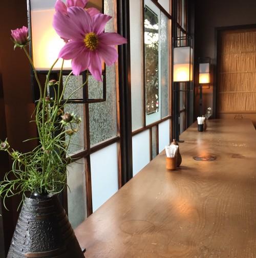 10月のお花はコスモス