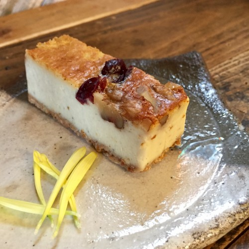 ゴルゴンゾーラのチーズケーキ☆350円