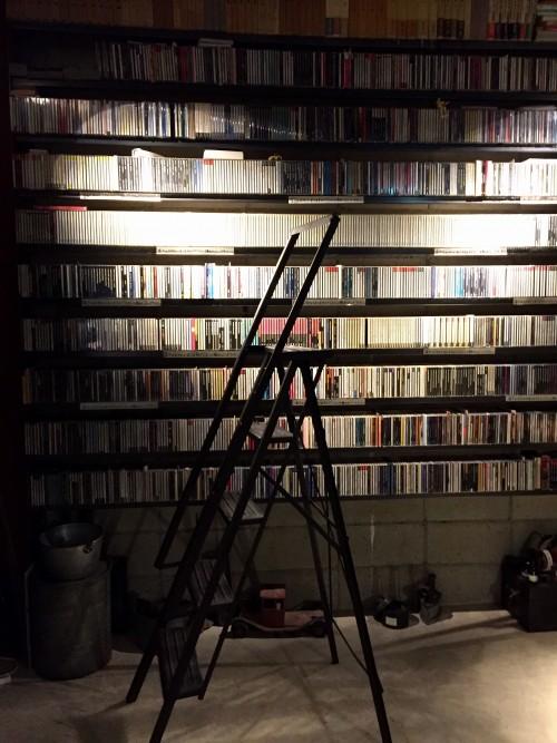 ジャズのCDは全部で3,500枚