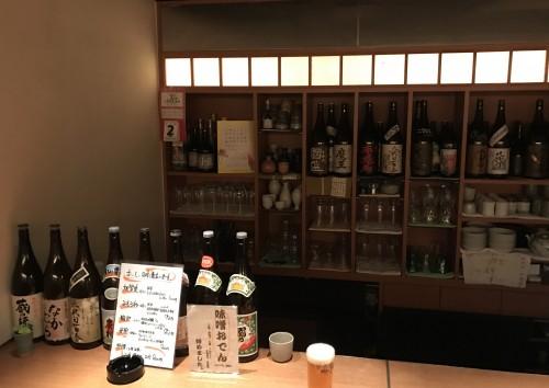 創作豆腐酒家『車道トウフ』店内