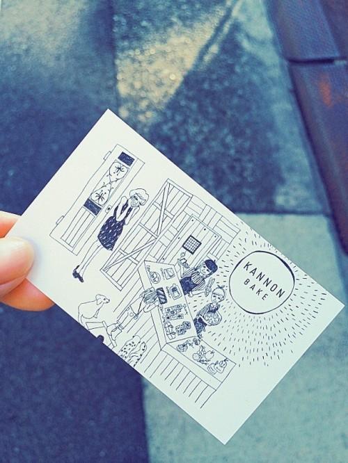 カンノン コーヒー (KANNON COFFEE)ショップカード