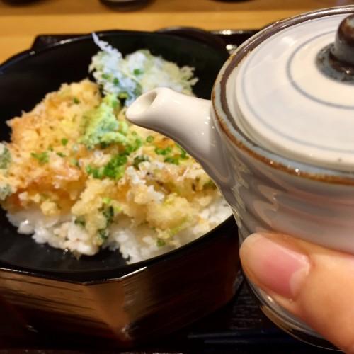 天ぷらのタレ