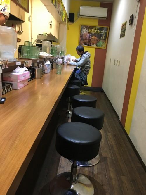 元祖台湾カレー 大須店 店内