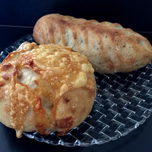 クルミの入ったパン