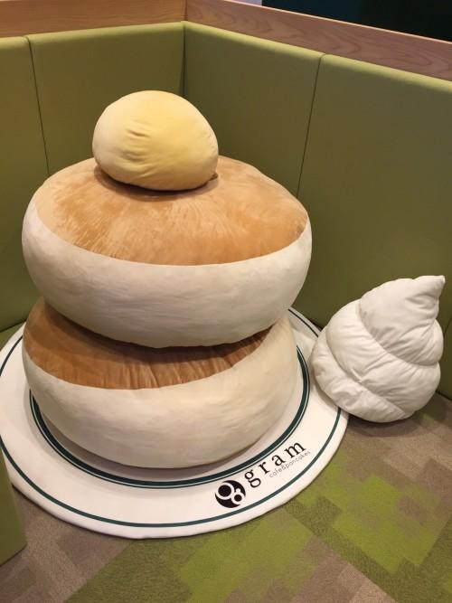 キッズスペース パンケーキクッション
