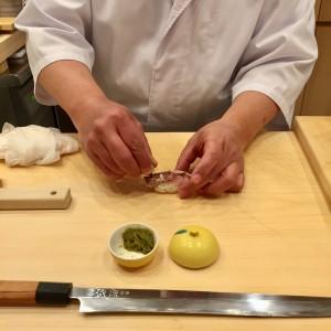 千種区東山公園|まな板続きのカウンター席!目の前で職人技が存分に楽しめる江戸前鮨のお寿司屋さん