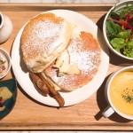 栄/矢場町|スプーンで食べれるパンケーキ?!人気の栄カフェに新登場のふわとろ半熟パンケーキ