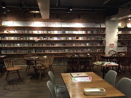 BERKELEY CAFE (バークレーカフェ) 店内