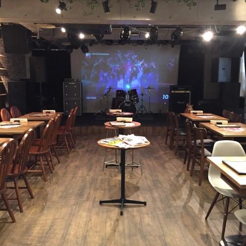 BERKELEY CAFE (バークレーカフェ) ステージ