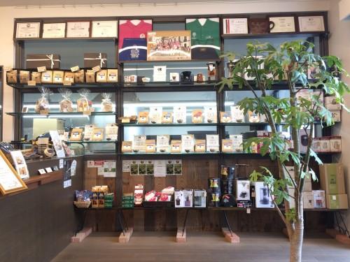 ゴルピー コーヒー 川名店 (GOLPIE COFFEE) 店内