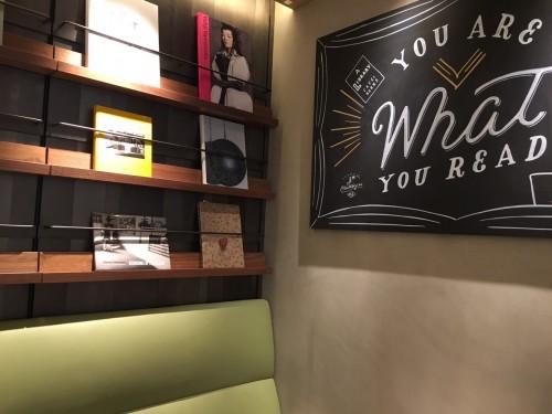 アライブラリー カフェ&ブックス デザイン