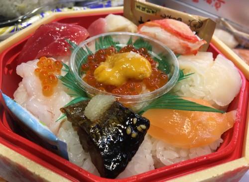 大将の創作手まり寿司