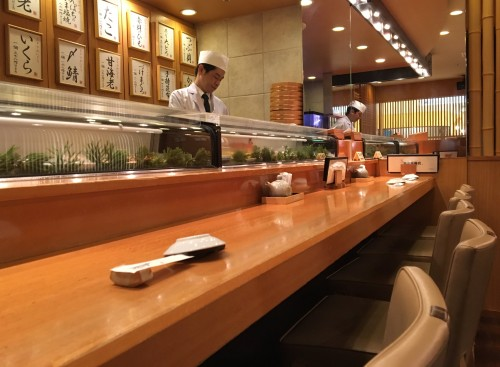 築地玉寿司 名古屋松坂屋店 カウンター