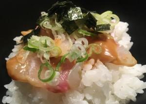 名古屋駅 有名懐石料理店プロデュース、お品書き1品のみの絶品こだわり鯛茶漬け!