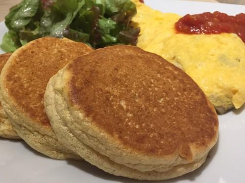 パンケーキ&きのこチーズオムレツ ¥1,100