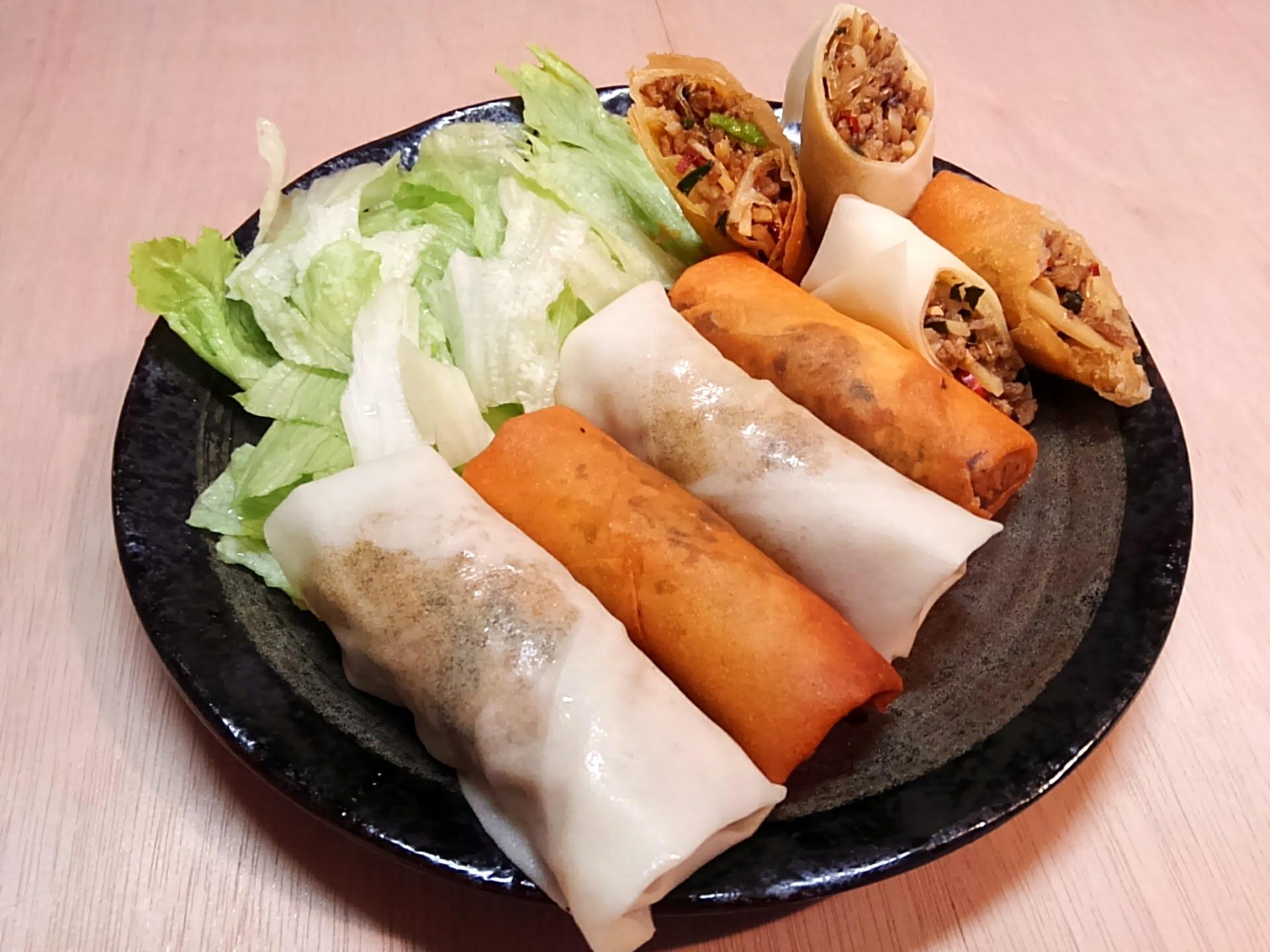 レシピ|目指せネオ名古屋めし!「台湾揚げ春巻き&台湾式台湾春巻き」