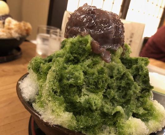 栄|創業約160年の老舗甘味処で頂く和菓子のような絶品かき氷