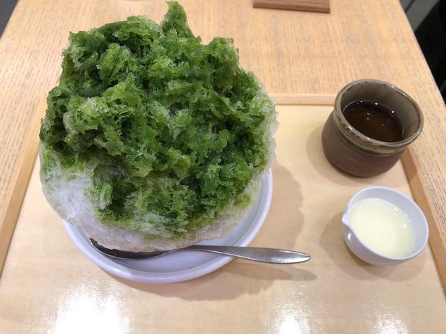名駅|JRセントラルタワーズ老舗和菓子屋の和カフェで頂くかき氷