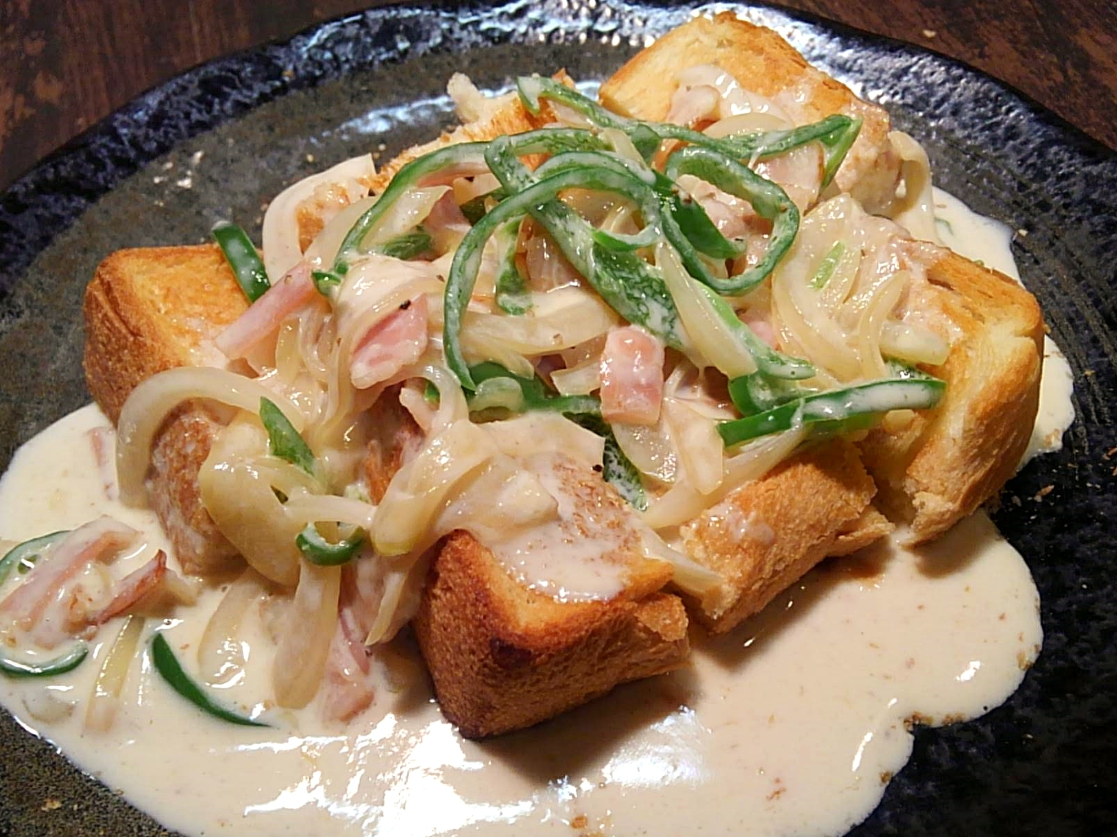 レシピ|名古屋ご当地喫茶店チェーンの味!「カルボトースト」