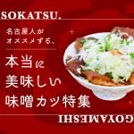 まとめ|あの有名店だけじゃない!名古屋人がレコメンドする「味噌カツ」特集