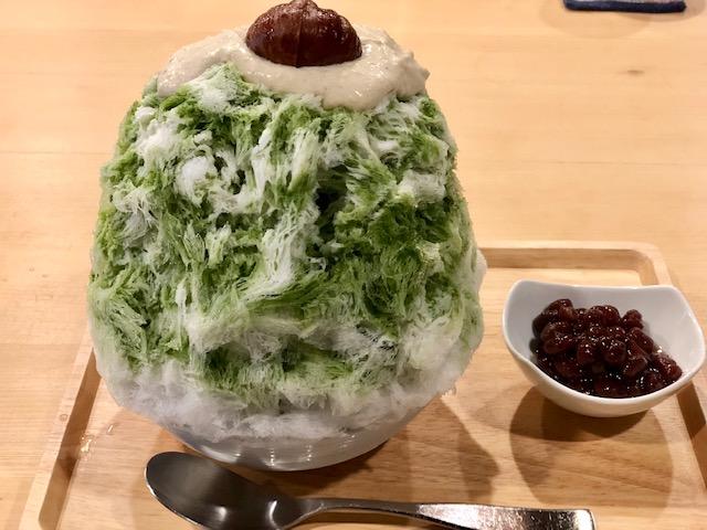 中村区役所|和の空間で頂くお茶屋さんの本格的な抹茶氷