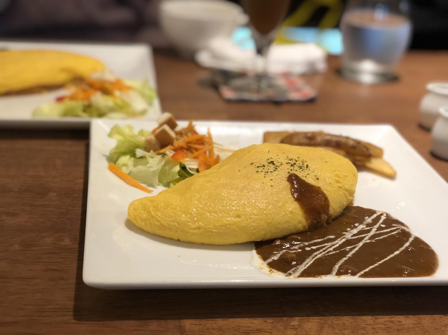 本山│名古屋コーチンを使用したふわとろオムライスが魅力的な隠れ家カフェ