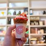 本山|思わずパシャリ!クッキーコップが可愛いコーヒースタンド