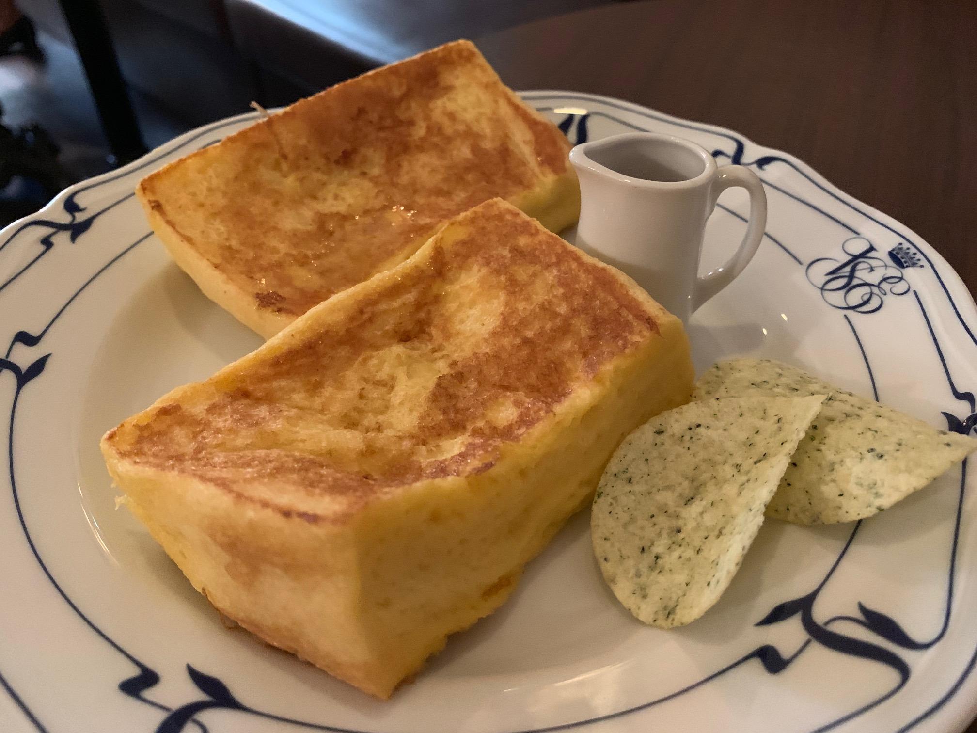 大須|丸くないからこそふわふわ感を2倍味わえるホットケーキ!