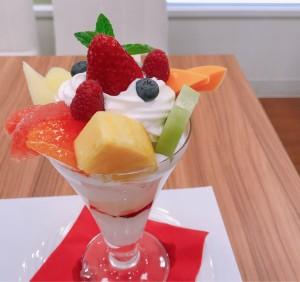 矢場町|一番美味しい時期にいただける、フルーツの「旬」を楽しめるフルーツパーラー