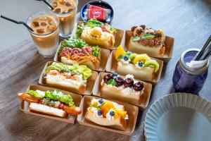 植田|食パンが大人気のベーカリーカフェから、新作サンドと濃厚なミルクシェイクが登場!
