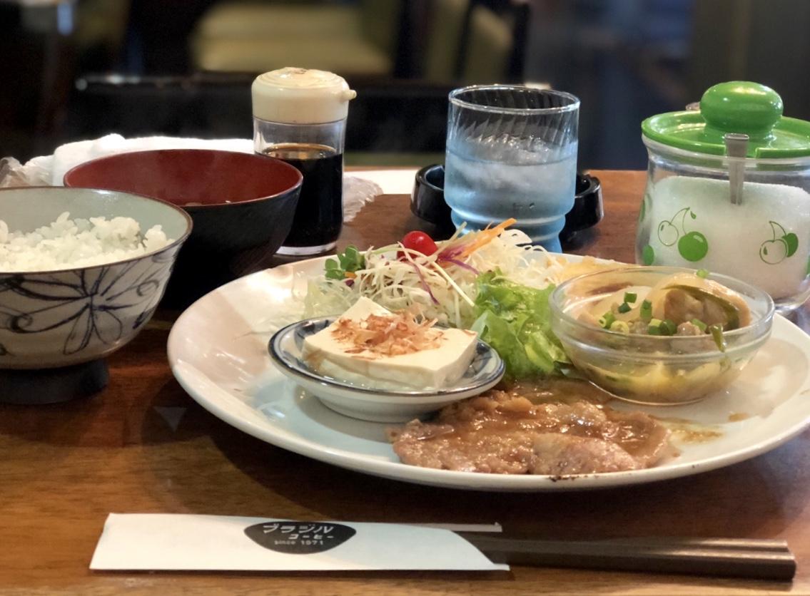金山|栄養バランス良し◎手作りランチが日替わりで毎日楽しめるレトロな喫茶店