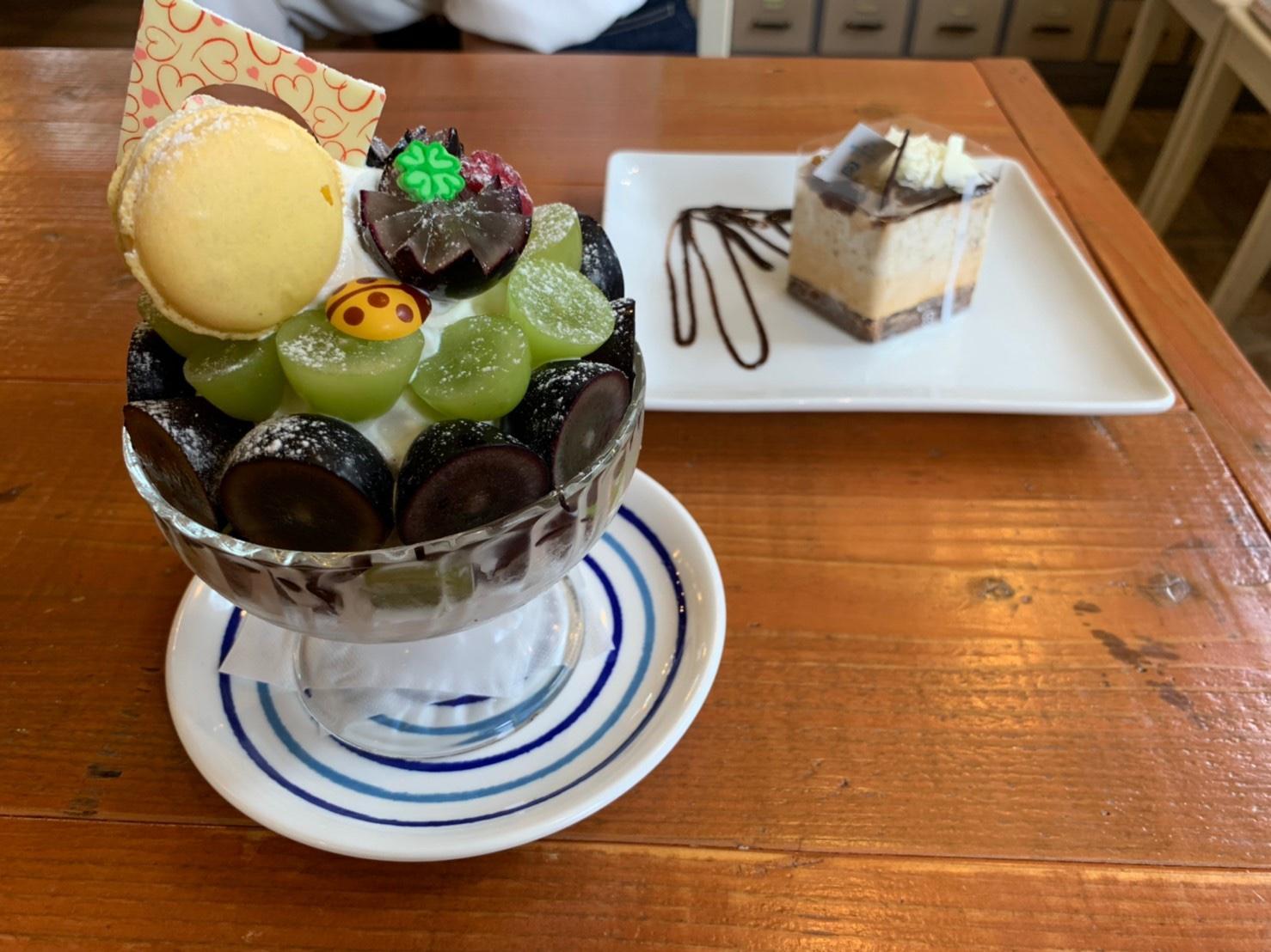 守山|新感覚!生姜スイーツと秋の味覚をふんだんに使用した季節限定パフェがいただけるケーキ屋さん