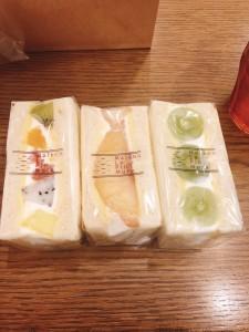 名古屋駅 萌え断!大名古屋ビルヂングでいただく幸せたっぷりなフルーツサンド