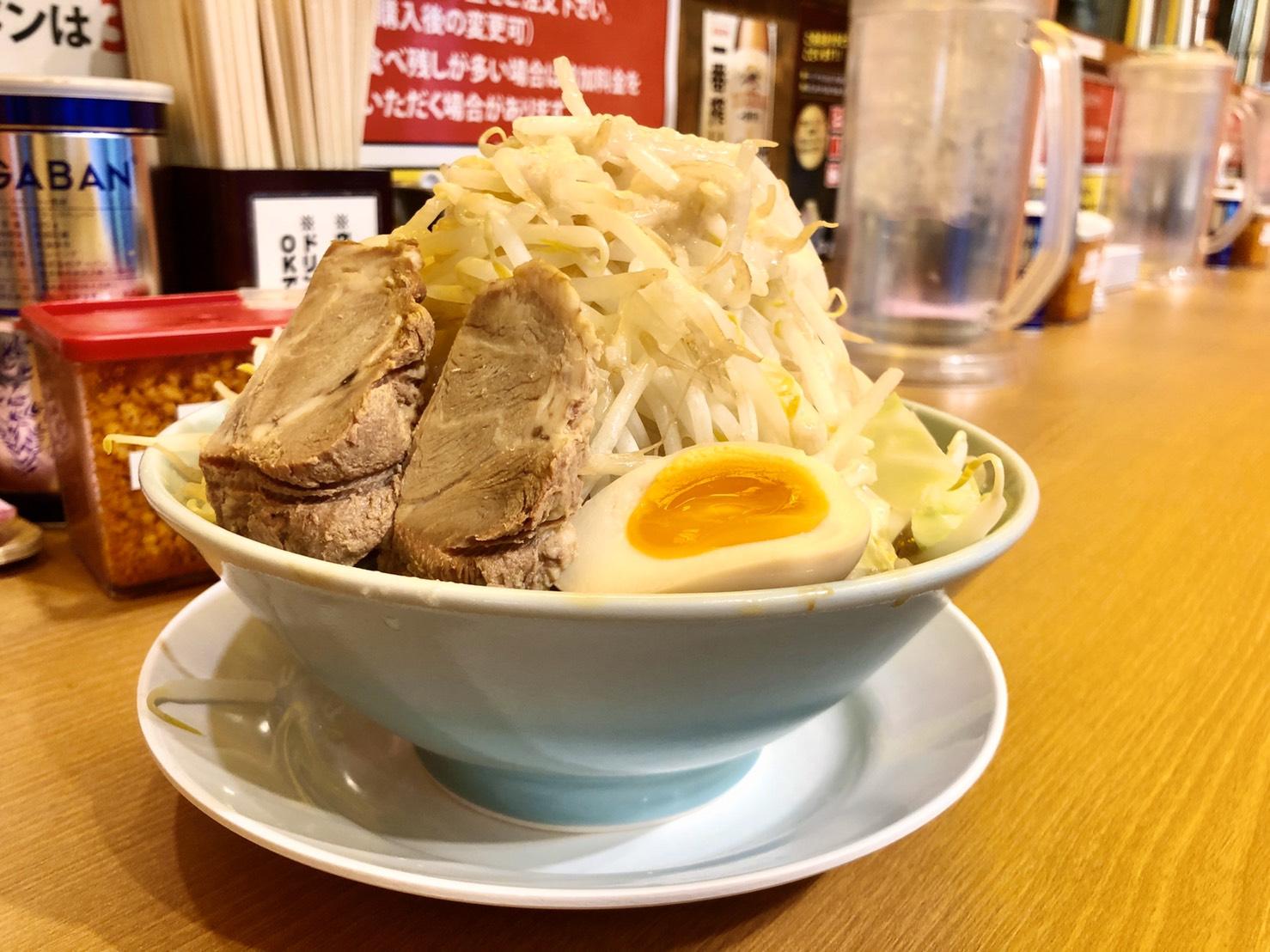 名古屋駅|ラーメンもカスタマイズできる時代。自分好みの一杯を見つけることができる二郎系ラーメン専門店