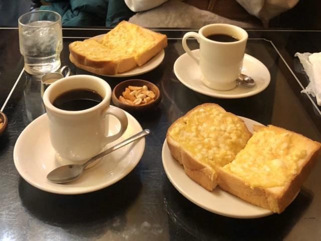 国際センター ふわふわタマゴのモーニングと温かいおもてなしが嬉しい喫茶店でゆっくり朝活。