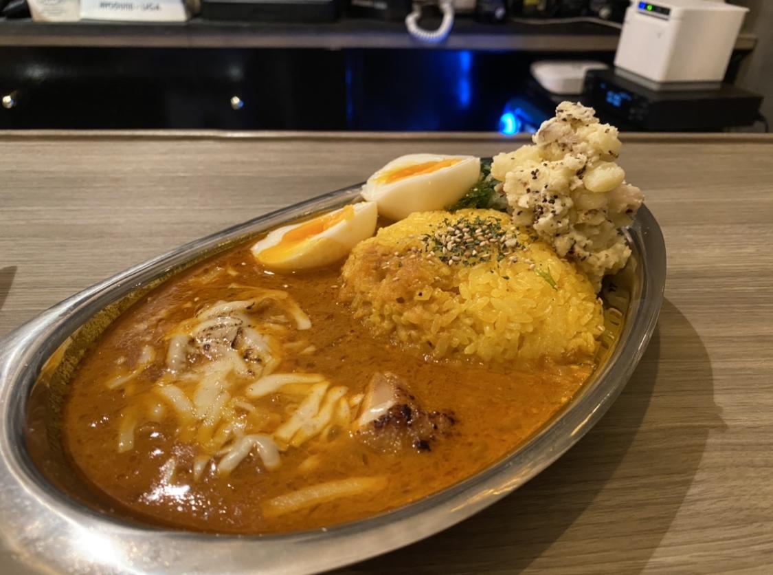 栄|週末ランチタイム限定OPEN!日本人が親しみやすい美味しさを追求したNEW間借りスパイスカレー店!