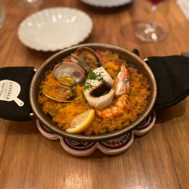 丸の内|古き良き街並みの四間道エリアで本格パエリア付きのおまかせコースを♩石畳の先にある大人のスペイン料理店