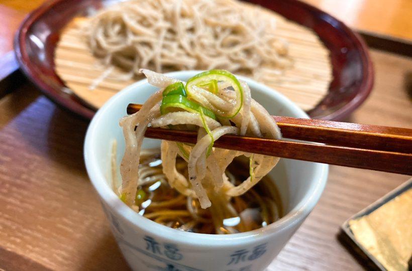 覚王山|日本が培ってきた食文化を大切に。毎朝手打ちの本格蕎麦を味わえる隠れ家カフェ