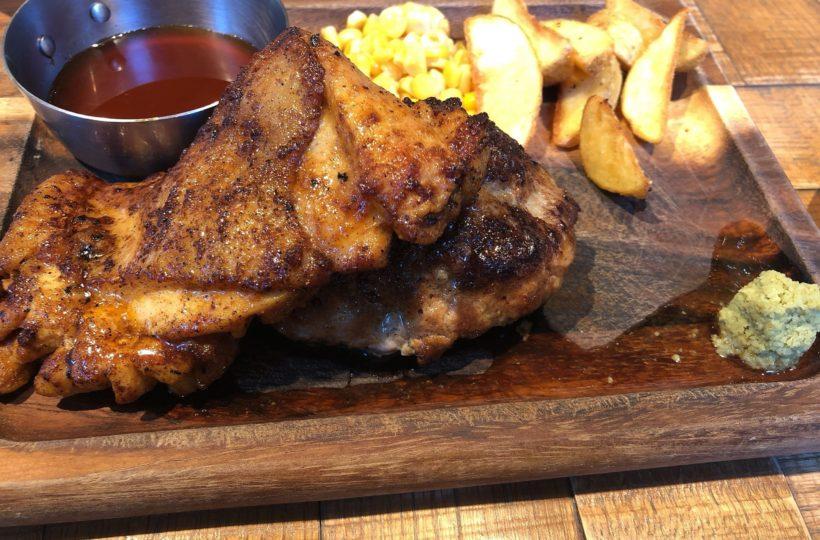 名駅|今日のお昼はお肉の気分♪がっつりお肉が食べたい時に必見の駅近カフェ