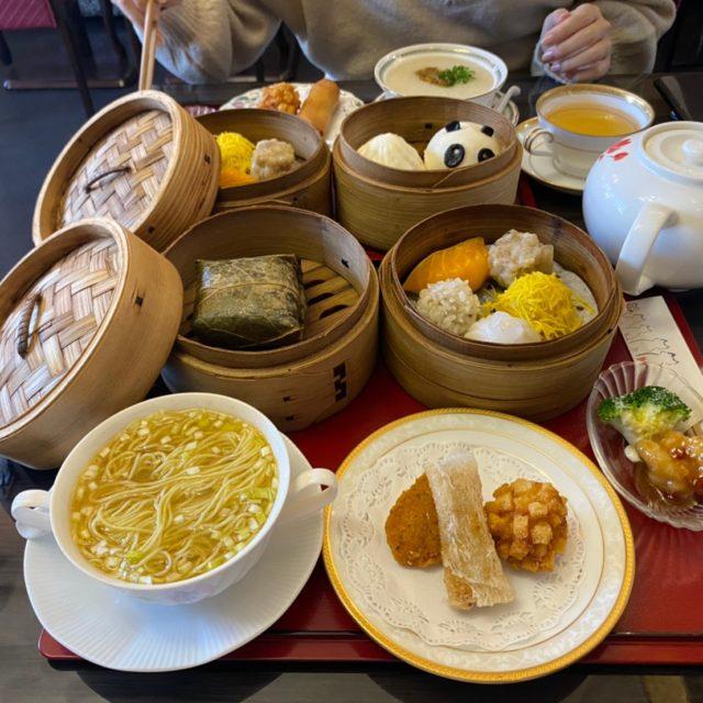 上社|中華の名店出身シェフが腕を振るう!ゴージャスな空間でいただく本格飲茶ランチ