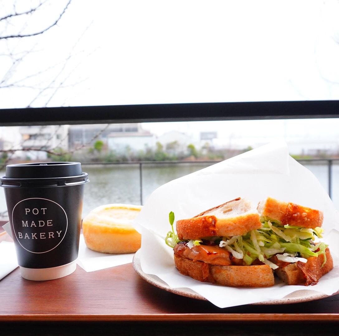 黄金|バーミキュラの味わいを気軽に楽しめる!川沿いテラスの落ち着いたベーカリーカフェ