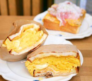 神の倉|食べ応え満点!一度食べたら忘れられない、食パン専門店で大人気のオムレツサンド