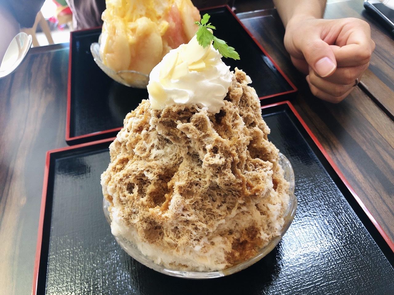 新栄|夏の間だけオープン!涼しげな古民家のかき氷専門店でいただくキャラメルミルク氷