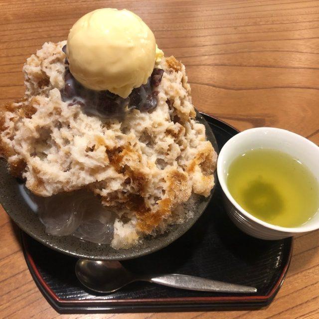 矢場町|創業150年の歴史あり!涼しげな茶寮でいただくかき氷