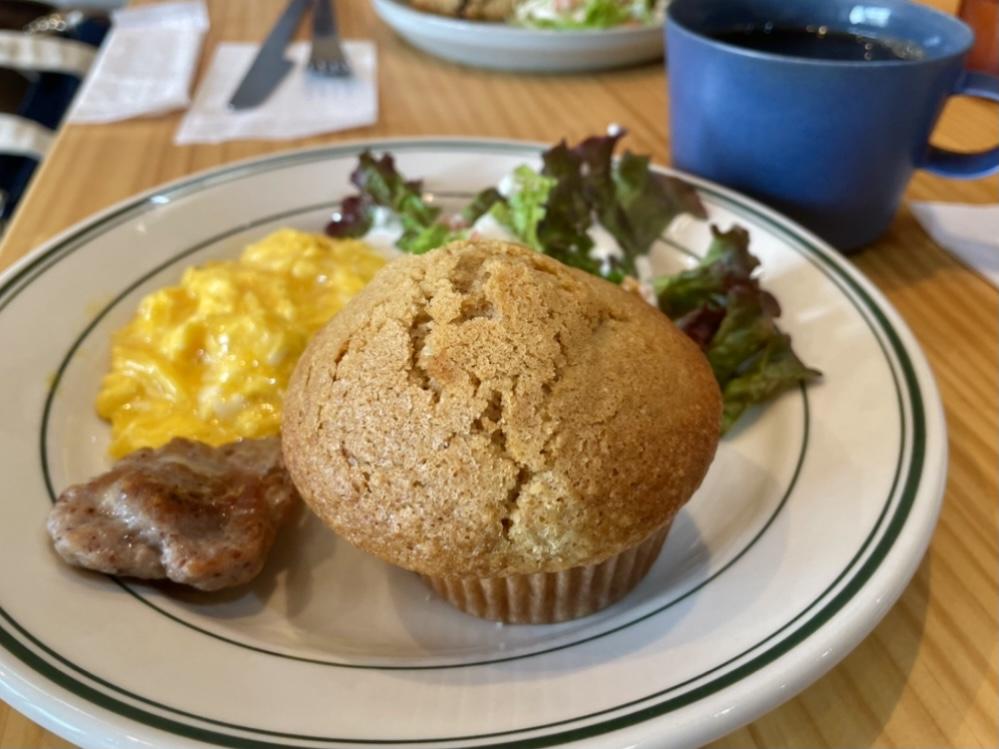 桜山|朝から焼きたてスコーンやマフィンが食べられる!小さなカフェのモーニング