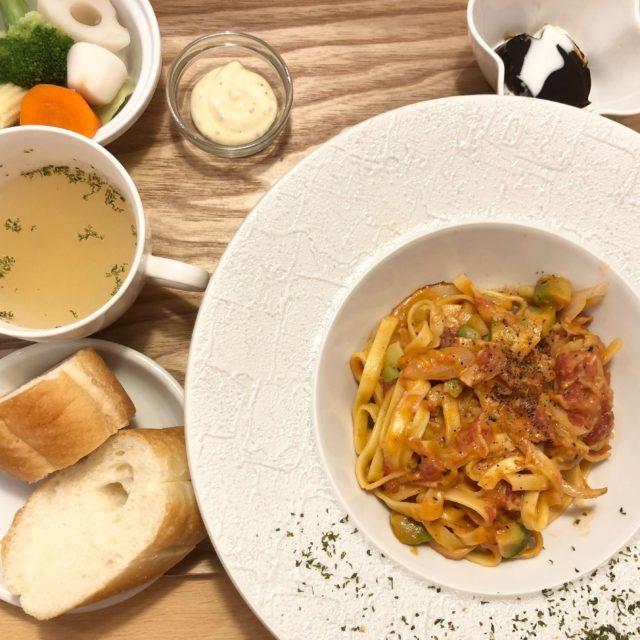 清水 もちもち食感の生パスタが美味しい♪ランチメニューが豊富なパスタが美味しいカフェ