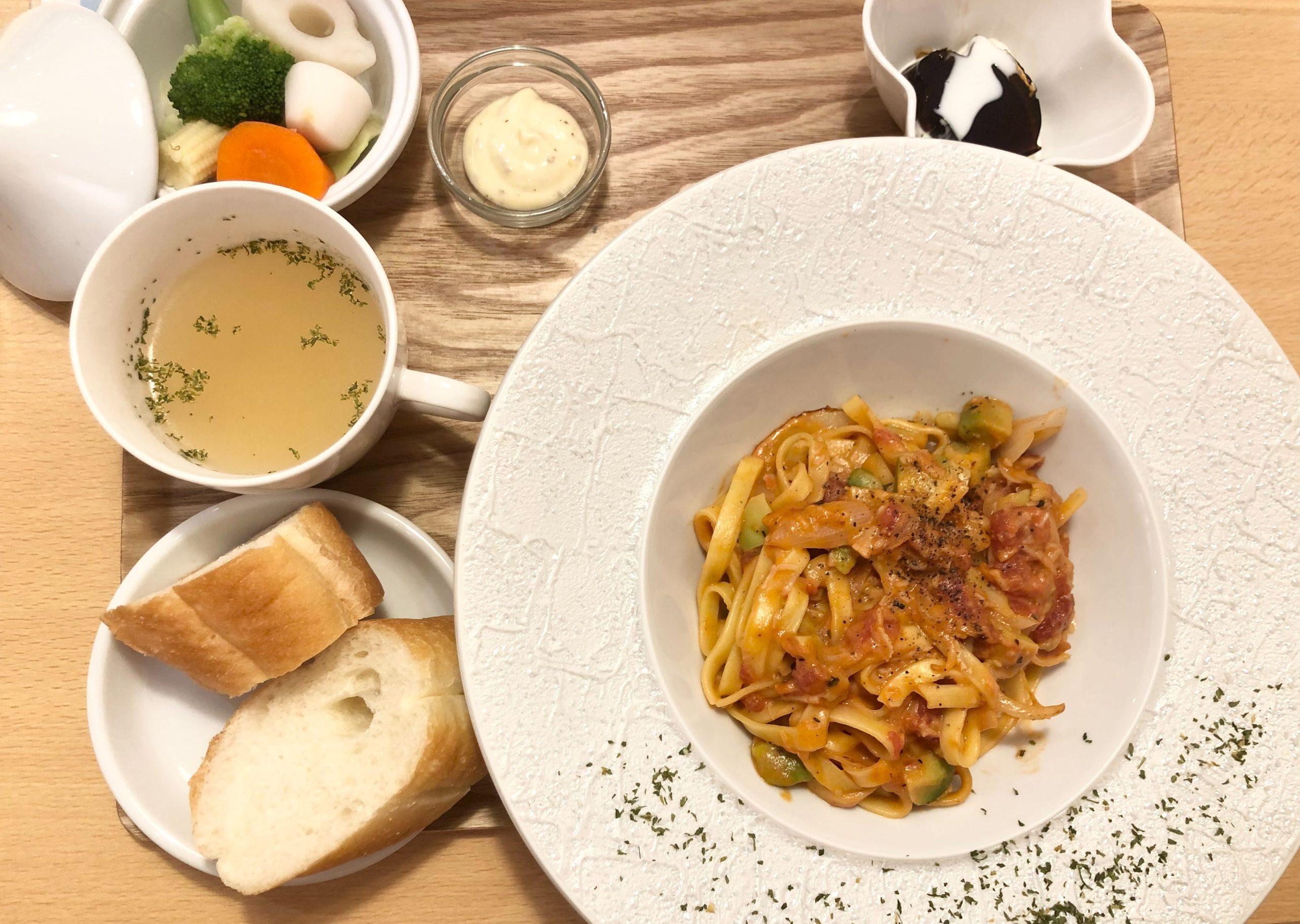 清水|もちもち食感の生パスタが美味しい♪ランチメニューが豊富なパスタが美味しいカフェ