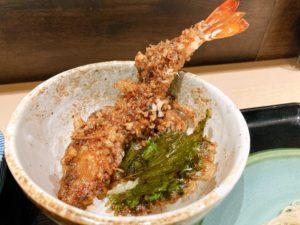 覚王山|濃厚サクサク天丼が美味しい!蕎麦居酒屋で味わうおすすめのランチセット